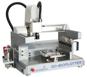3D bioplotter - medical 3d printing - printer