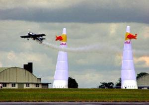 flow simulation - air race